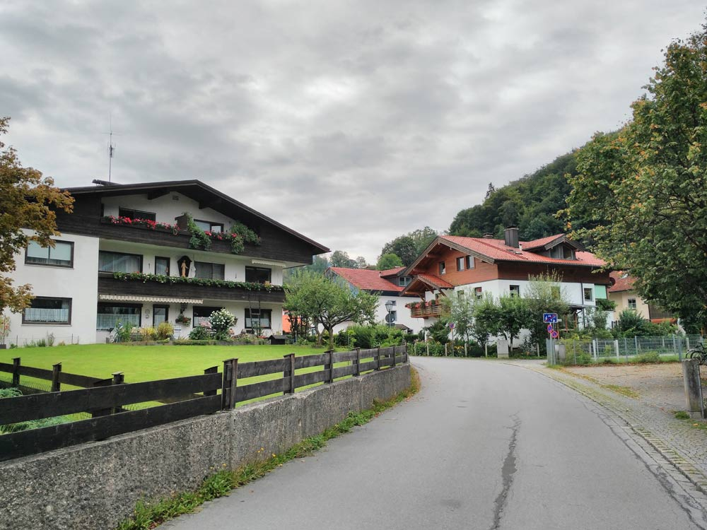 Symbolbild bayrische Kleinstadt.