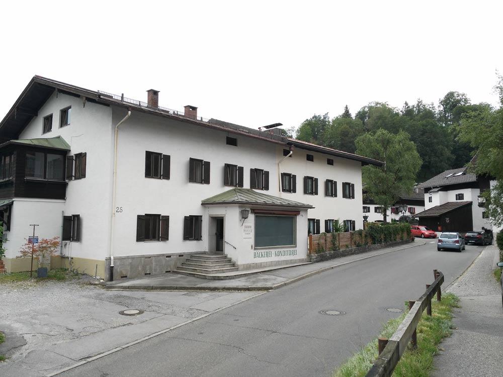 Die Bäcker-Subkultur stirbt auch in Oberaudorf.