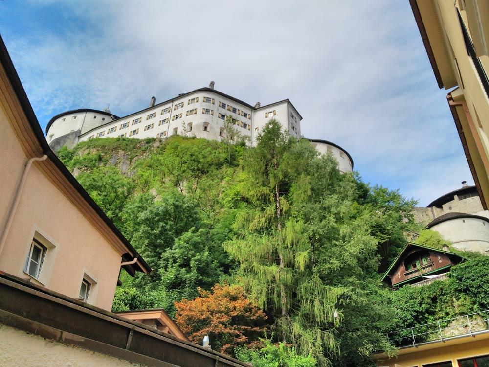 In Kufstein gibt's ne Burg, sorry, Festung...