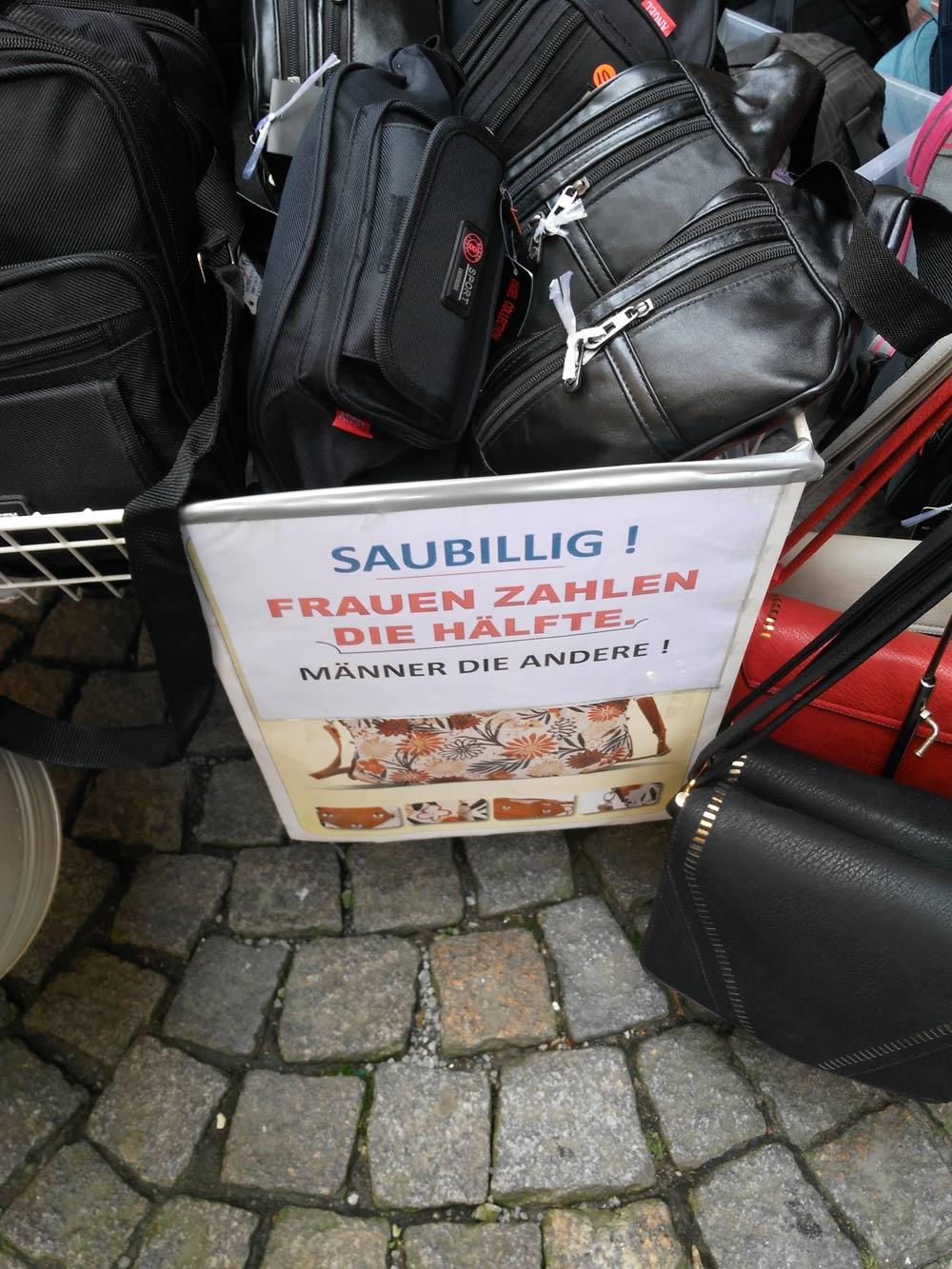 Und bisschen witzig ist man in Kufstein auch.