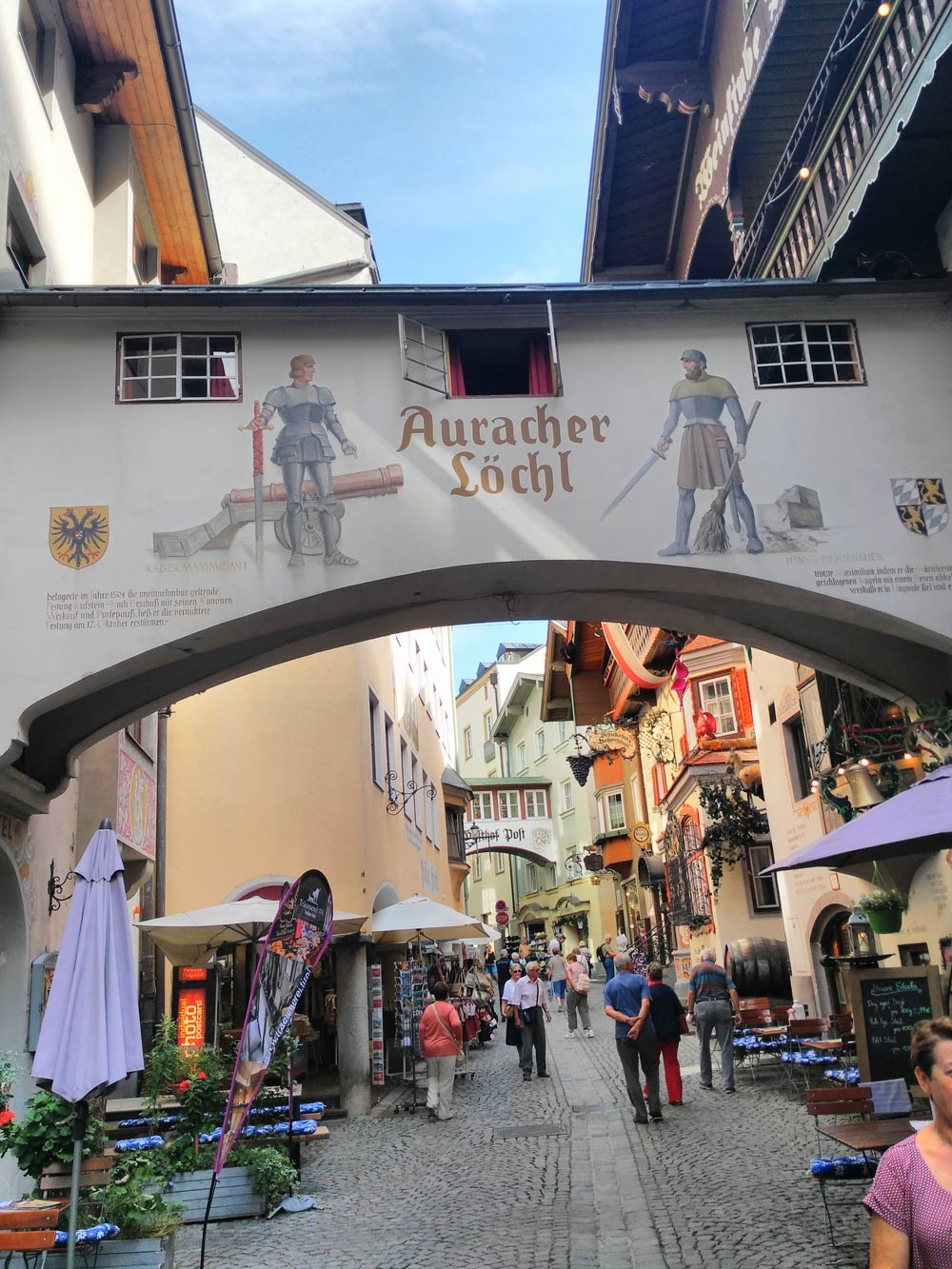 In Kufstein heißen Travelblogger übrigens noch Touristen.