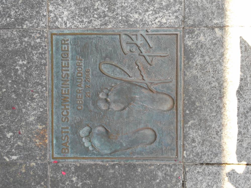 ...und dann noch bisschen über den Oberaudorf Walk of Fame.