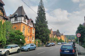 Gaisburgstraße-Diemershalde-Stafflenberg-Walk in Kienle rein