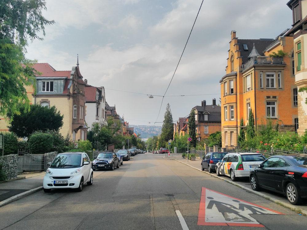 Sonnenbergstraße. Auch da möchte ich mal wohnen, wenn ich groß bin.