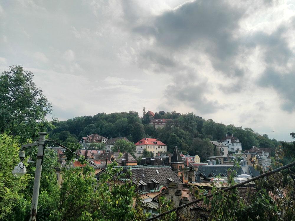 Stafflenberg View, Ortsmarkierung Sonnenberg-Stäffele. Wenn die so heißen.
