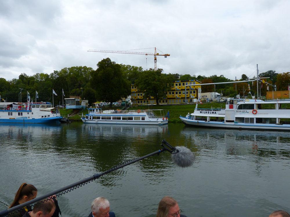 MS Stadt Stuttgart 1, Käptn Neckar 0.