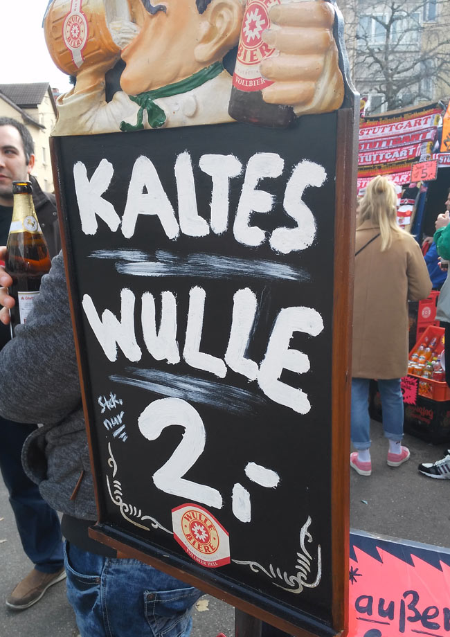 Was wäre die Alternative? Warmes Wulle für 1,50 Euro?