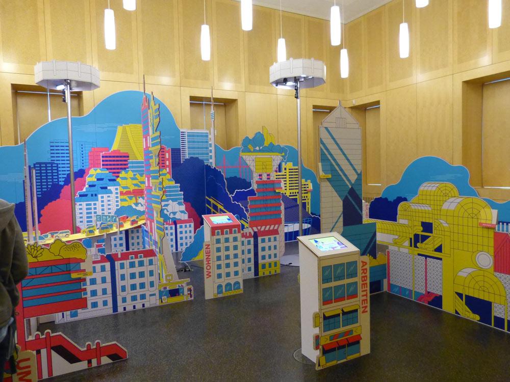Die Räume kennt vielleicht noch der eine oder andere von der Kolchose-Ausstellung