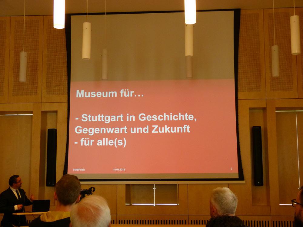 Das Stadtpalais - Stadtmuseum für Stuttgart eröffnet am ...