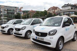 Neue e-smarts für car2go Stuttgart