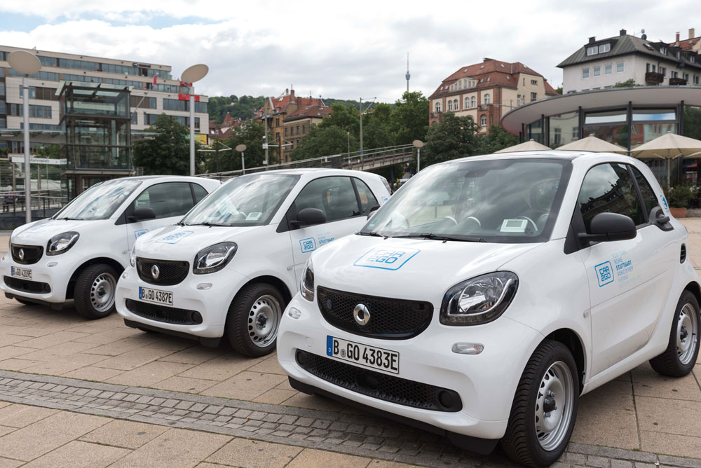 Neue e-smarts für car2go Stuttgart | KESSEL.TV
