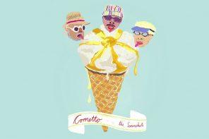 Cornetto, Buttermilch & Zitrone