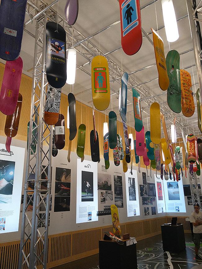 Ausstellung Skateboarding Stuttgart - noch bis 09.09. im Stadtpalais (Salon Sophie) zu sehen.