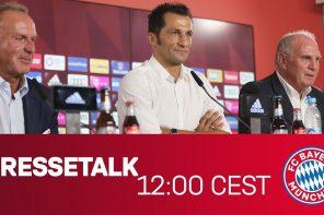 Epic FC Bayern Pressekonferenz