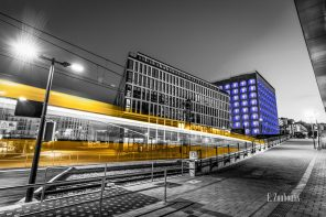 Ausstellung im VDI-Haus: Stuttgart in Lichtgeschwindigkeit