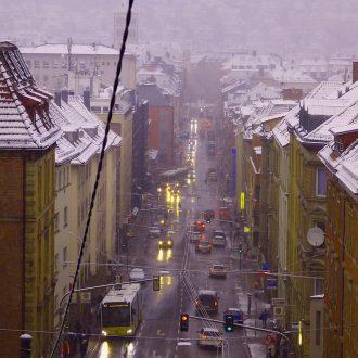 Schwabstraße Winter