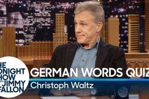 German Words Quiz mit Christoph Waltz & Jimmy Fallon