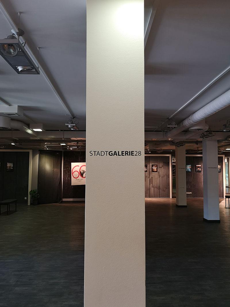 Die Stadtgalerie: Jetzt neu im 1. OG vom Kaufhaus Mitte.