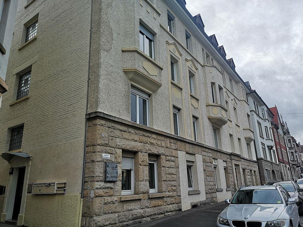 Manfred Rommel Geburtshaus in der Landhausstraße 122. Landhausstraße eine der besten Straßen wo gibt auf Planet.