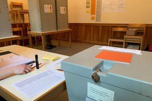 Pärchen im Bademantel und bitte keinen Müll in die Urnen werfen: Bericht von einem Wahlvorstand