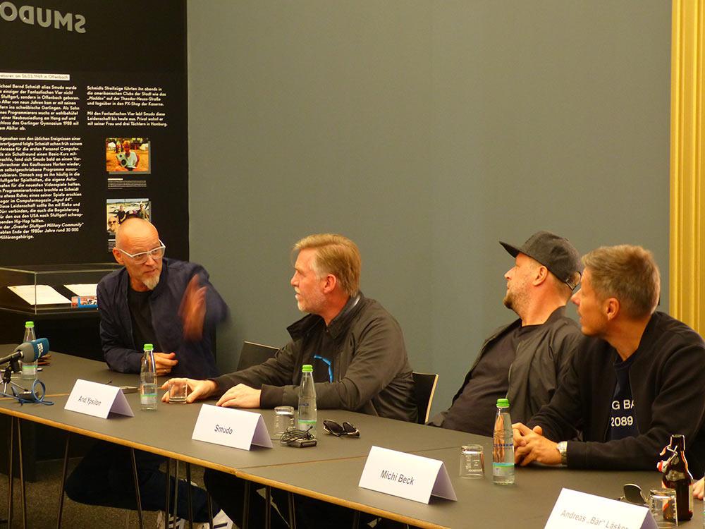 Michi Beck fand die Idee einer Ausstellung gleich gut. Nur Thomas D musste überzeugt werden. Oder andersherum.