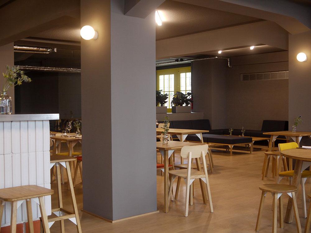 Ab sofort geöffnet: Restaurant/Café Im Künstlerhaus.