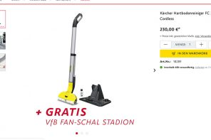 Kärcher X VfB Fan Shop