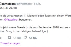 """""""Jein"""" von Fettes Brot in 11 Monaten Tweets"""