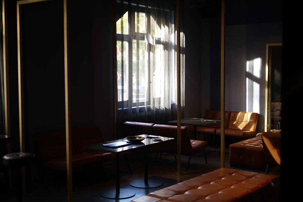 Der Raum soll Ruhe und Gelassenheit ausstrahlen.