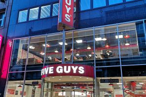 Five Guys Stuttgart Opening