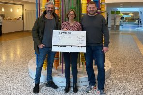 Club Kowalski spendet 3000 Euro an Olgäle-Stiftung