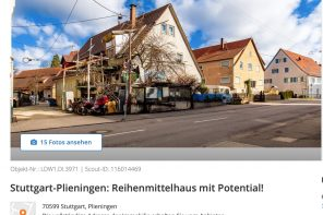 Reihenmittelhaus mit Potential in Plieningen