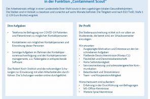 Jobs beim Robert Koch-Institut