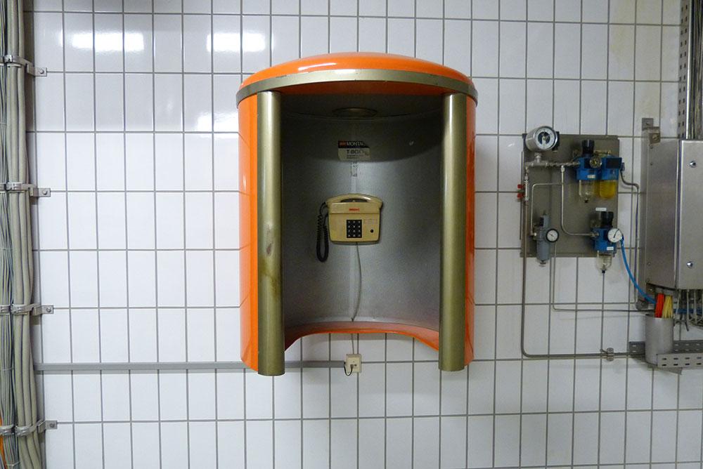 Telefonzelle immer wichtig.
