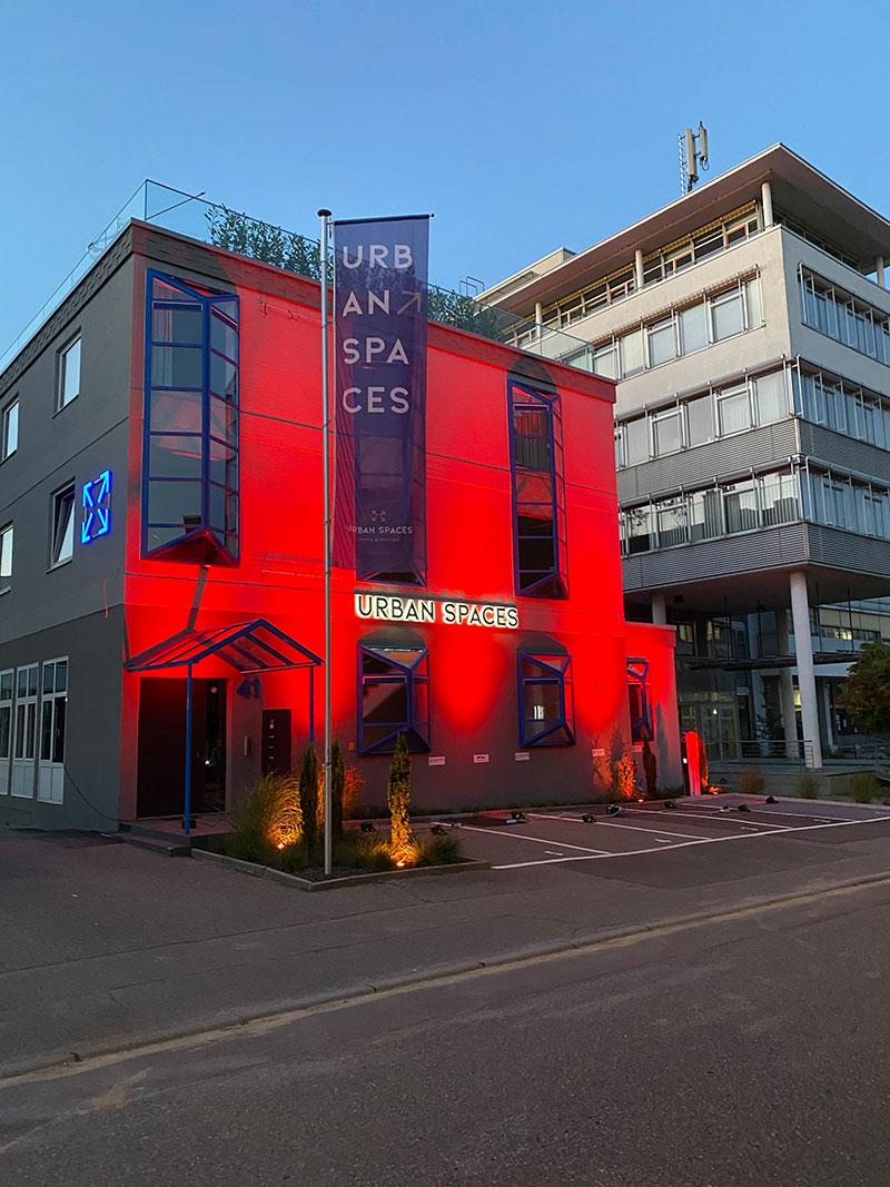 Eventlocation und Coworking Spaces Urban Spaces in Vaihingen, Foto Urban Spaces