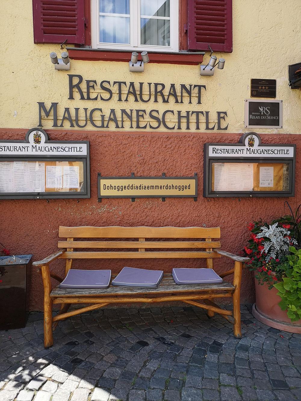 Tübingen warum bist du noch so hoggig. Classic Shot.