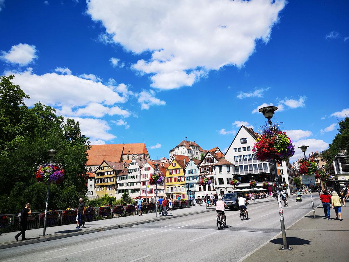 Entering the Boris-B-Zone: Classic Tübingen Shot.