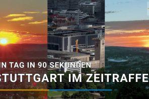 Ein Tag Stuttgart in 90 Sekunden