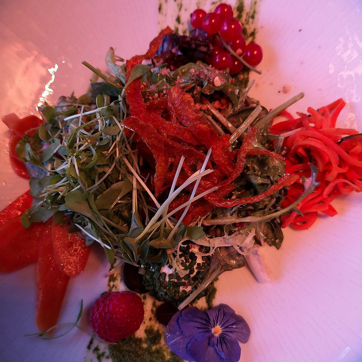 Salat-Komposition. Traum.