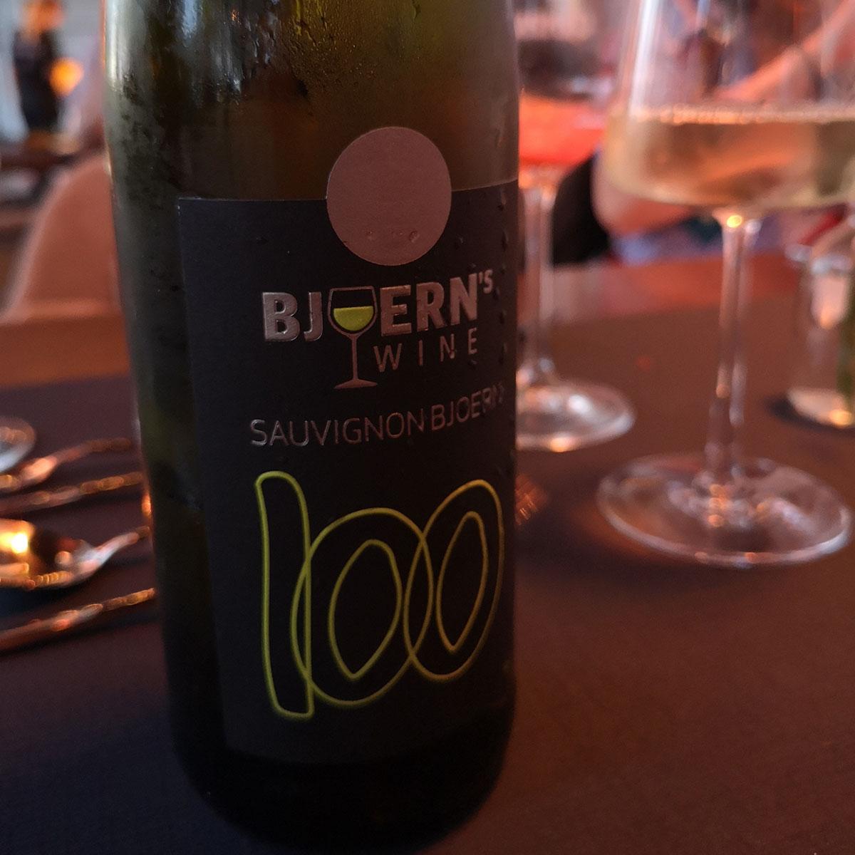Die Weine kommen von Björn himself.
