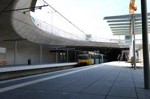 Neue Stadtbahn-Haltestelle Staatsgalerie