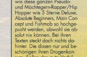 Steffi mag kein Deutschrap (1998)