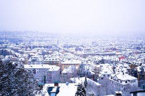"""Ketty-Images: """"Jahrhundertschnee"""" Stuttgart 2021"""