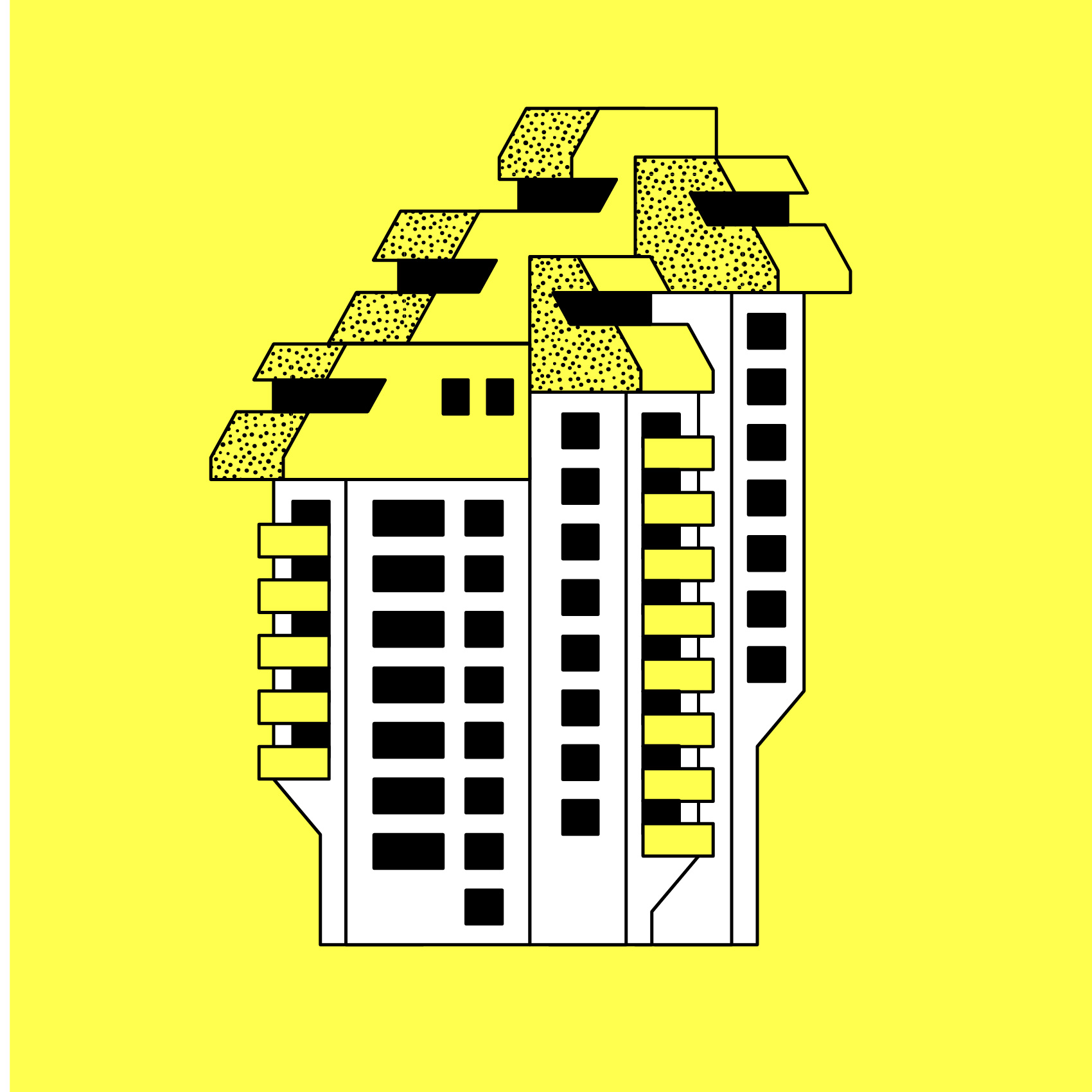 Titel: Urban structures - Residential